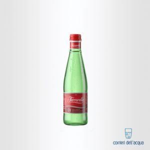 Acqua Frizzante Ferrarelle 0,33 Litri Bottiglia di Vetro