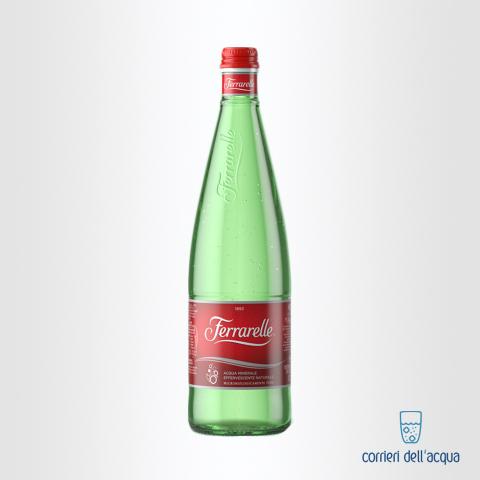 Acqua Frizzante Ferrarelle 075 Litri Bottiglia di Vetro