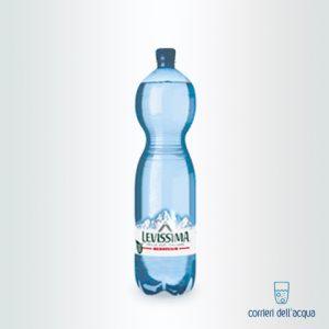 Acqua Frizzante Levissima 1,5 Litri Bottiglia in Plastica Eco