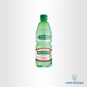 Acqua Leggermente Frizzante Uliveto 0,5 Litri Bottiglia di Plastica