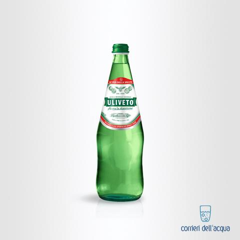 Acqua Leggermente Frizzante Uliveto 075 Litri Bottiglia di Vetro