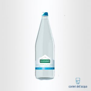 Acqua Lievemente Frizzante Levissima 1 Litro Bottiglia in Vetro