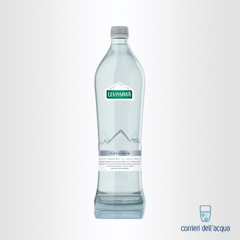Acqua Naturale Levissima 075 Litri bottiglia in Vetro