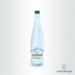 Acqua Naturale Levissima 1 Litro bottiglia in Plastica Eco 1