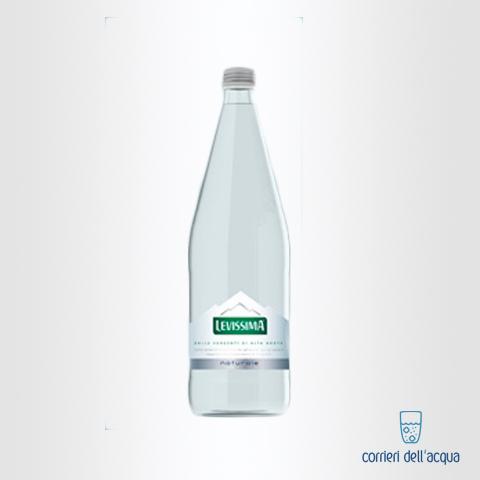 Acqua Naturale Levissima 1 Litro bottiglia in Vetro