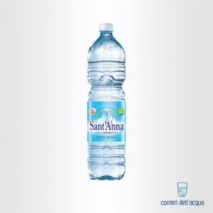 Acqua Naturale SantAnna Naturale 15 Litri Bottiglia in Plastica quadrata