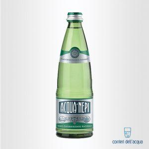 Acqua Effervescente Naturale di Nepi 0,5 Litri Bottiglia di Vetro