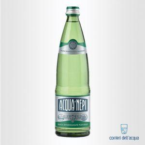 Acqua Effervescente Naturale di Nepi 0,75 Litri Bottiglia di Vetro
