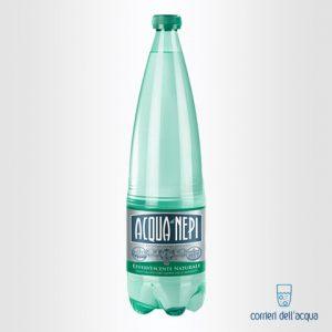 Acqua Effervescente Naturale di Nepi 1 Litro Bottiglia di Plastica PET