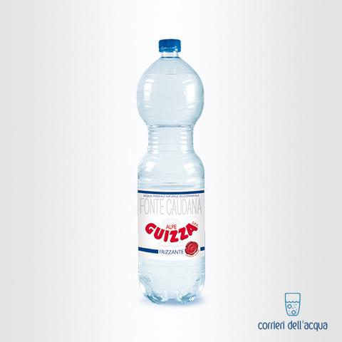 Acqua Frizzante Alpe Guizza Fonte Caudana 15 Litri Bottiglia di Plastica