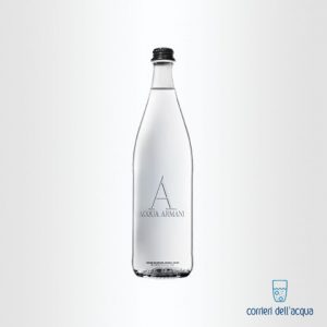 Acqua Frizzante Armani 075 Litri Bottiglia di Vetro