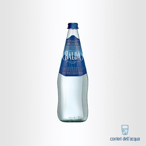 Acqua Frizzante Balda 075 Litro Bottiglia di Vetro Bianco