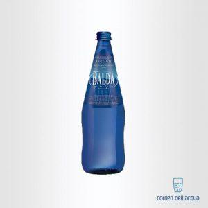 Acqua Frizzante Balda 075 Litro Bottiglia di Vetro Blu