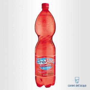 Acqua Frizzante Brio Rossa Rocchetta 1,5 Litri Bottiglia di Plastica