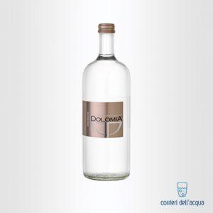 Acqua Frizzante Dolomia 075 Litri Bottiglia di Vetro Exclusive