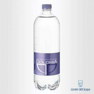 Acqua Frizzante Dolomia 1 Litro Bottiglia di Plastica PET Elegant