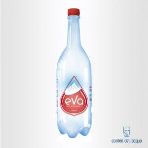 Acqua Frizzante Eva 1 Litro Bottiglia di Plastica
