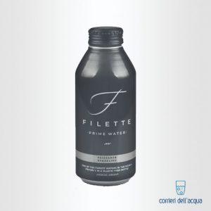 Acqua Frizzante Filette 045 Litri Bottiglia di Alluminio
