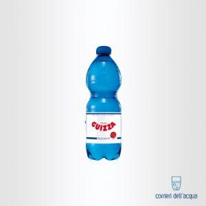 Acqua Frizzante Fonte Guizza 0,5 Litri Bottiglia di Plastica