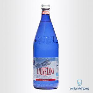 Acqua Frizzante Lauretana 1 Litro Bottiglia di Vetro