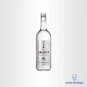 Acqua Frizzante Llanllyr 075 Litri Bottiglia di Vetro