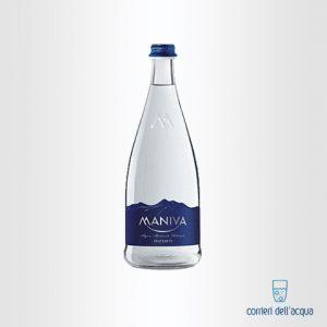 Acqua Frizzante Maniva Chef 075 Litri Bottiglia di Vetro