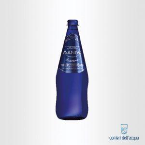 Acqua Frizzante Maniva Chef Blu 0,75 Litri Bottiglia di Vetro
