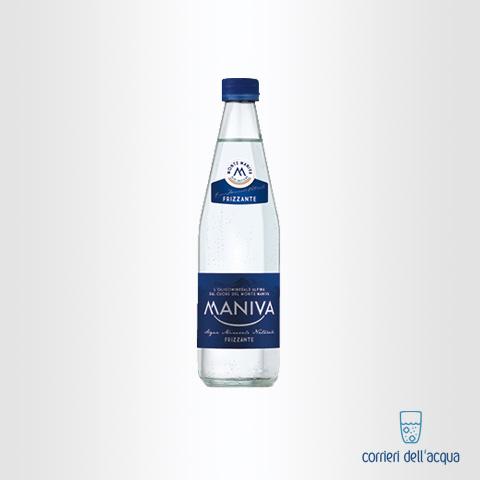 Acqua Frizzante Maniva Classic 0,5 Litri Bottiglia di Vetro