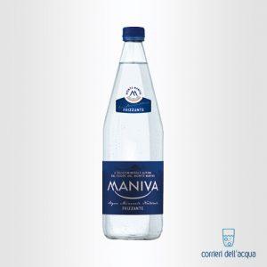 Acqua Frizzante Maniva Classic 1 Litro Bottiglia di Vetro