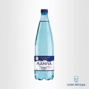 Acqua Frizzante Maniva Prestige 1 Litro Bottiglia di Plastica PET