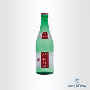 Acqua Frizzante Natía 0,5 Litri Bottiglia di Vetro