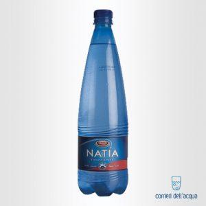 Acqua Frizzante Natía 1 Litro Bottiglia di Plastica PET