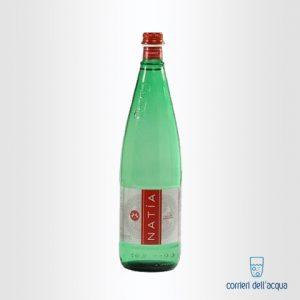 Acqua Frizzante Natía 1 Litro Bottiglia di Vetro