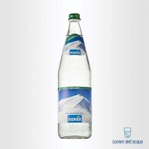 Acqua Frizzante Norda Daggio 1 Litro Bottiglia di Vetro