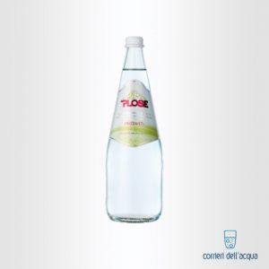 Acqua Frizzante Plose Gourmet 0,75 Litri Bottiglia di Vetro