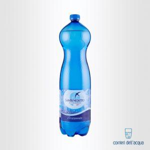 Acqua Frizzante San Benedetto Benedicta 1,5 Litri Bottiglia di Plastica