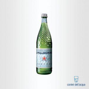 Acqua Frizzante San Pellegrino Edizione dellAnniversario 075 Litri Bottiglia di Vetro