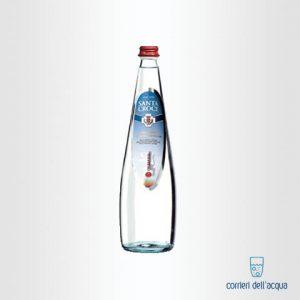 Acqua Frizzante Santa Croce 075 Litri Bottiglia di Vetro