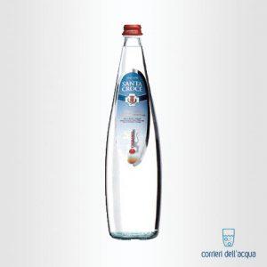Acqua Frizzante Santa Croce 1 Litro Bottiglia di Vetro