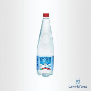Acqua Frizzante Santa Croce Horeca 1 Litro Bottiglia di Plastica PET