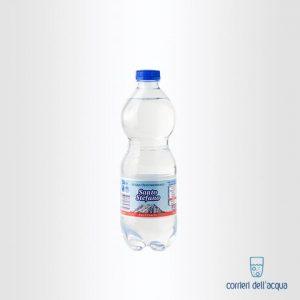 Acqua Frizzante Santo Stefano 0,5 Litro Bottiglia di Plastica PET
