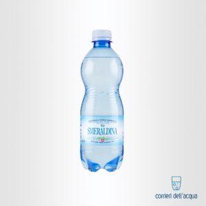 Acqua Frizzante Smeraldina 0,5 Litri Bottiglia di Plastica PET