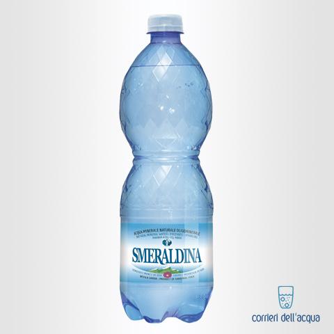 Acqua Frizzante Smeraldina 1 Litro Bottiglia di Plastica PET