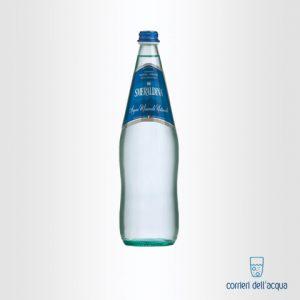 Acqua Frizzante Smeraldina 1 Litro Bottiglia di Vetro