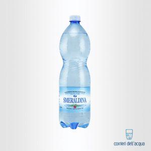 Acqua Frizzante Smeraldina 1,5 Litri Bottiglia di Plastica PET