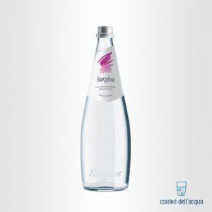 Acqua Frizzante Surgiva 075 Litri Bottiglia di Vetro