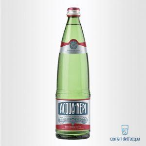 Acqua Frizzante di Nepi Effervescente Rinforzata 075 Litri Bottiglia di Vetro