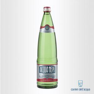 Acqua Frizzante di Nepi Effervescente Rinforzata 1 Litro Bottiglia di Vetro