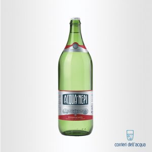 Acqua Frizzante di Nepi Effervescente Rinforzata 2 Litri Bottiglia di Vetro