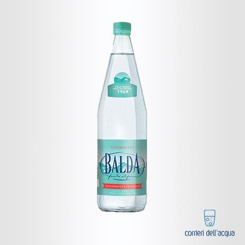 Acqua Leggermente Frizzante Balda Prestige 1 Litro Bottiglia di Vetro